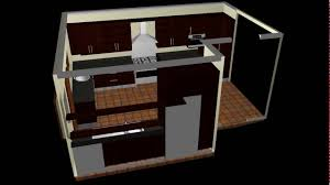 2can carpentry 3d kitchen design walkthrough youtube