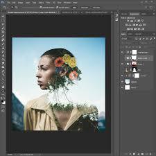 tutorial double exposure photoshop cs3 how to create a double exposure portrait with photoshop