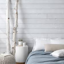 chambre avec lambris blanc lambris pvc mdf 20 modèles côté maison