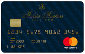 brooks brothers credit card application form