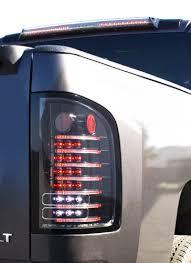 fiber optic tail lights ipcw ledt 3040cb chevrolet silverado black fiber optic led tail