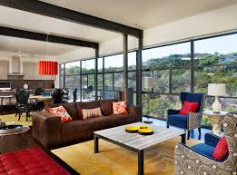 Industrial Modern House The House Above The Valley Refurbished By Spaces Designed Of Austin