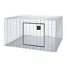 Stackable Rabbit Hutches Little Giant 30 In X 30 In Metal Rabbit Hutch 22616411 The