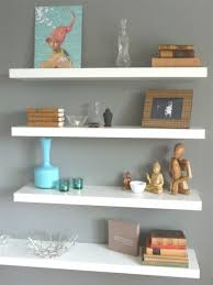 Hanging Wall Bookshelves by Bathroom Wall Shelf Ideas Zamp Co