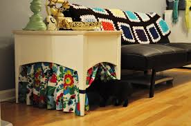 beetlebailey kitty litter box table diy