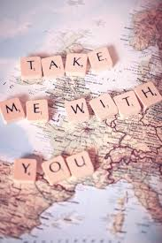 Take me with you quotes travel life map adventure