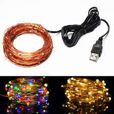 aliexpress com buy rf remote 12m 100 led usb outdoor led copper