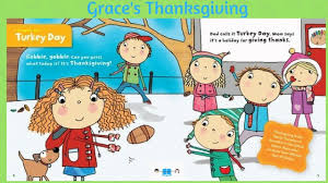 grace s thanksgiving story book read aloud audio