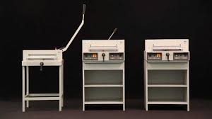 ideal 4305 4315 and 4350 guillotines youtube