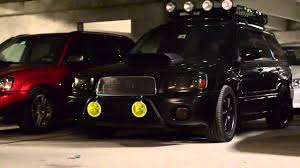 subaru forester stance nation big slow meet 2012 youtube