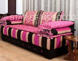 sofa pink pink moroccan modern living room