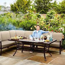 outdoor table ls battery operated 2018 jamie oliver cosy corner furniture set bronze biscuit 1799