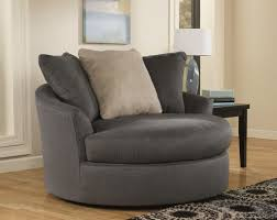 oversized fabric chair with ottoman furniture oversized gray fabric living room barrel chair with 3