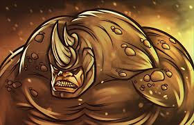 learn draw rhino amazing spiderman 2 marvel