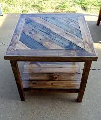 Cedar Patio Furniture Plans Appealing Outdoor End Table Plans For House Ideas