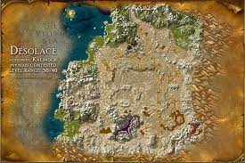 map quests desolace map with locations npcs and quests of warcraft