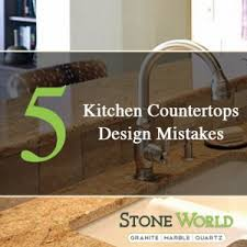 Kitchen Counter Top Design by 5 Mistakes To Not Make As You Design Kitchen Countertops