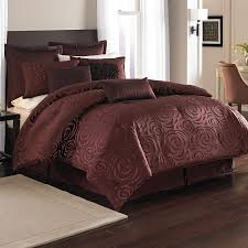 Nicole Miller Duvet Bed U0026 Bedding Maroon Nicole Miller Bedding With Cool Pattern For