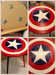marvel room makeover created a captain america nightstand by