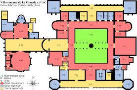 villa house plans marvellous plan of roman house contemporary best idea home