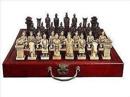 Unique Chess Pieces Chess Set Ebay