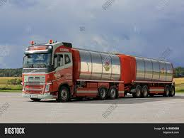 big volvo truck salo finland august 7 2016 image u0026 photo bigstock