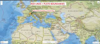 Plate Boundaries Map 10 24 2016 U2014 Italy Swiss Border Hit By M4 4 Earthquake U2014 Eq