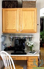 kitchen office organization ideas finally organized kitchen office