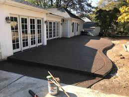 Exposed Aggregate Patio Pictures by Concrete Workers Columbus Maximus Concrete
