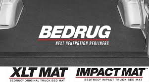 bedrug xlt mat and impact mat protect your truck bed better than