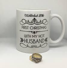 first christmas mug wife husband first christmas