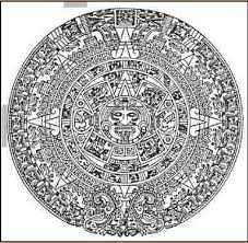 aztec mayan calendar tattoo real photo pictures images and