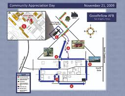 afb map goodfellow community appreciation day goodfellow air base