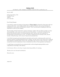 ideas collection cover letter lab job with additional template