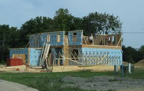 cost to build a house in michigan filenew house under construction pittsfield township michigan new
