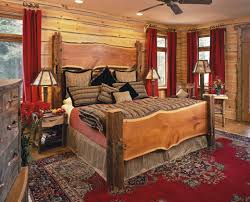perfect outstanding rustic bedroom vintage style and decoration