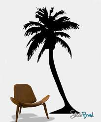 palm tree wall decal palm tree wall stickers