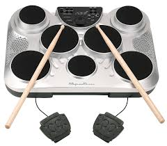amazon com spectrum ail 602 7 pad digital drum set with