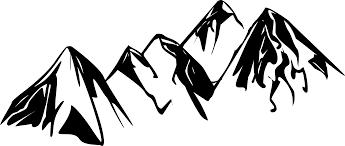 mountain drawings clip art 25