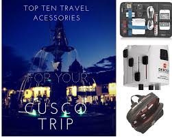Arkansas travel gadgets images Top 10 travel acessories for your trip to cusco png
