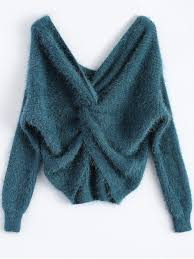 chenille sweater fluffy twisted chenille sweater peacock blue sweaters one size