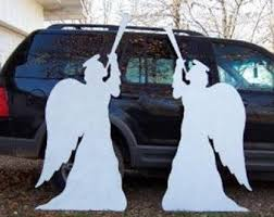 Metal Christmas Yard Art Decorations by Best 25 Christmas Lawn Decorations Ideas On Pinterest Diy Xmas
