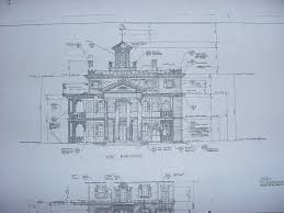 pictures blueprints of a mansion free home designs photos
