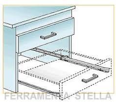 cassetti per cucina guida guide scorrevoli per cassetti di mobili cucina armadio 30 cm