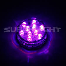 Purple Led Halloween Lights Amazon Com Binzet Ir Remote Controlled Rgb Submersible Led
