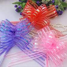 pull bow ribbon 10pcs lot pullbows gift packing pull bow ribbons gift wrapping