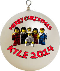 custom ornaments lego ninjago masters of spinjitzu christmas ornament