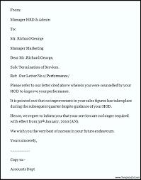 termination letter sample templatezet