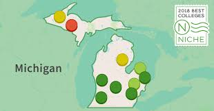 Map Of The State Of Michigan by 2018 Best Colleges In Michigan Niche