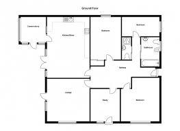 Bungalo Floor Plan Amazing 4 Bedroom House Plans Kerala Modern Story Bhk Plan Images